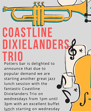 Nerja Potters Bar Coastline Dixieland Trio