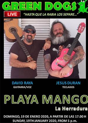 Herradura Playa Mango Green Dogs