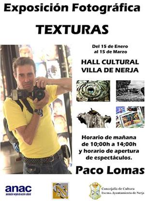 Nerja Centro Cultural FotoExpo Paco Lomas
