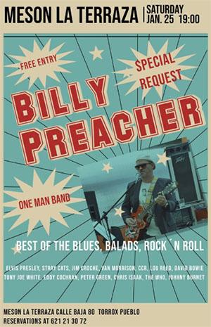 Torrox Terraza Billy Preacher