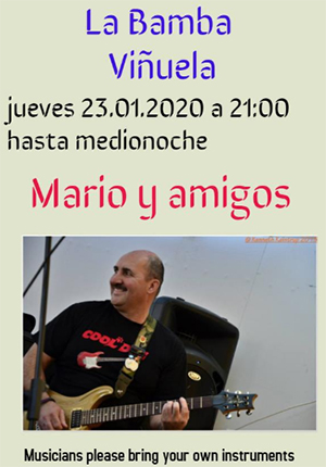 Vinuela La Bamba Mario 20200123
