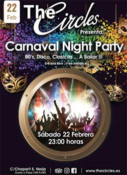 Nerja Circles Carnavalsparty