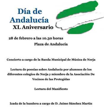 Nerja Dia de Andalucia 2020