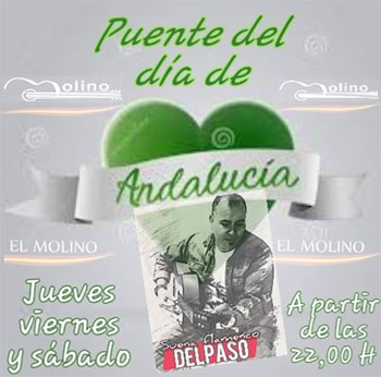 Nerja El Molino Delpaso Dia de Andalucia