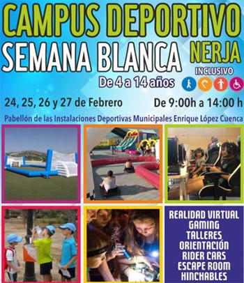 Nerja Semana Blanca Sportkamp jeugd 2020