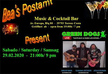 Torrox Beas Postamt Green Dogs 20200229
