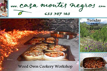 Trapiche Casa Montes Negros Wood Fired Oven Cookery