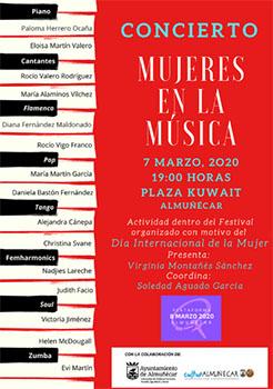 Almunecar Concierto Mujeres en la Musica