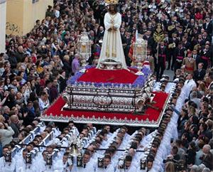 Malaga Paasprocessie
