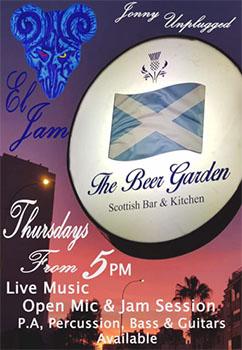 Nerja Beer Garden Johnny Unplugged 20200312