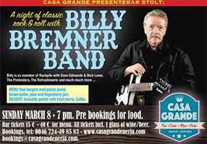Nerja Casa Grande Billy Bremer Band