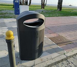 Almunecar afvalbakken