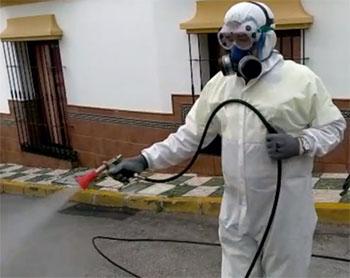 Nerja desinfectie